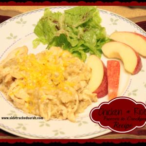 Chicken & Rice (Freezer to Crockpot)