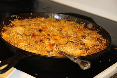 Mexican Casserole (Freezer to Crockpot)