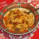 Slow Cooker Pasta Fagiola - SidetrackedSarah.com
