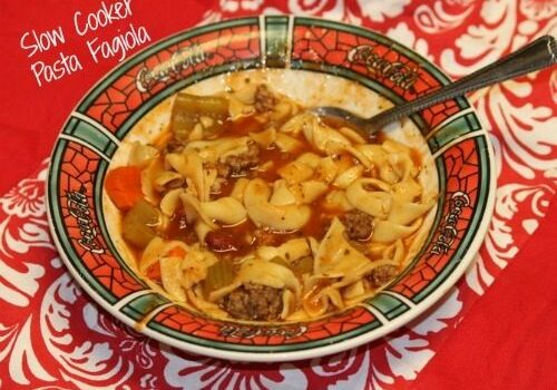 Slow Cooker Pasta Fagiola (Freezer to Crockpot Series)