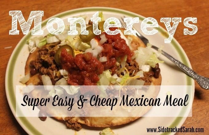 Montereys - Mexican Meal