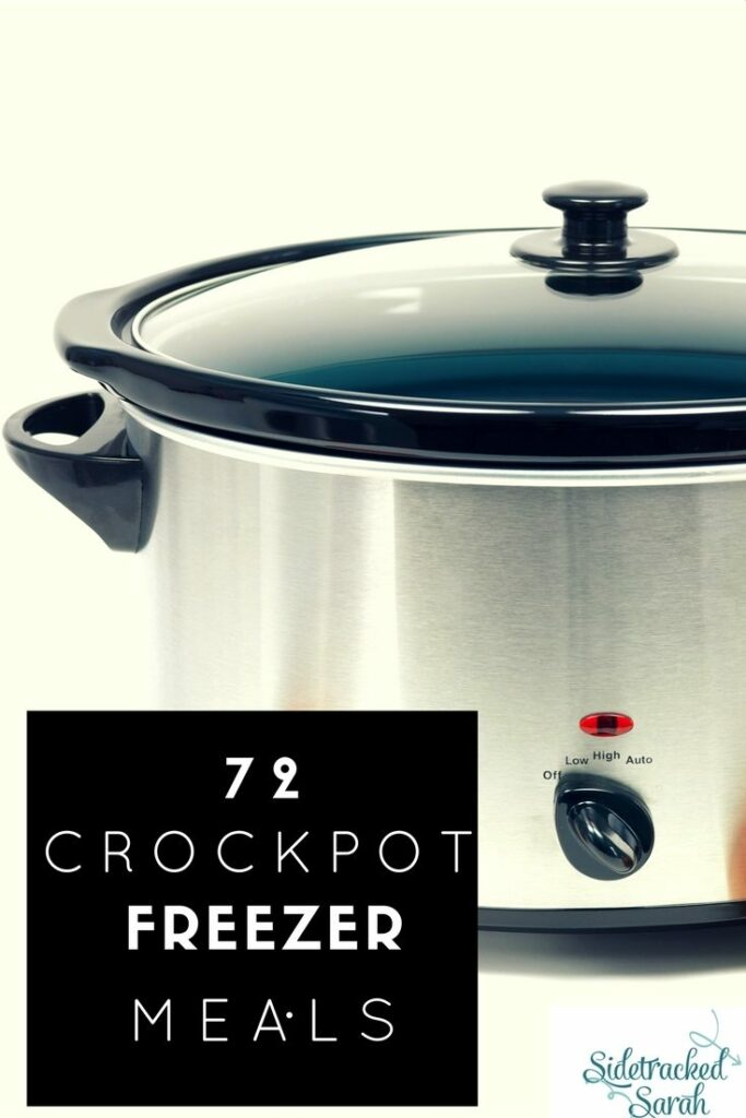 My kids are always so excited when I pick a recipe from this list of Crockpot Freezer Meals!