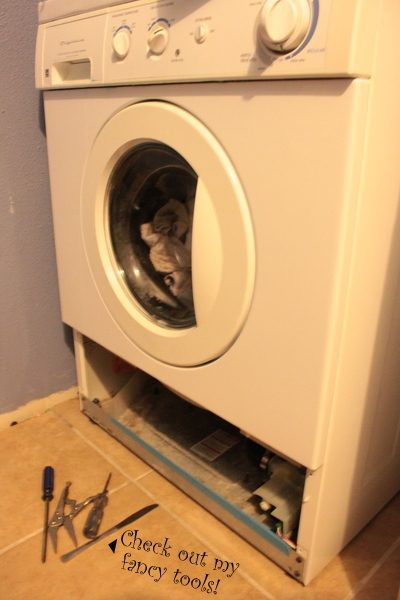 Fixing My Front Loader Washing Machine
