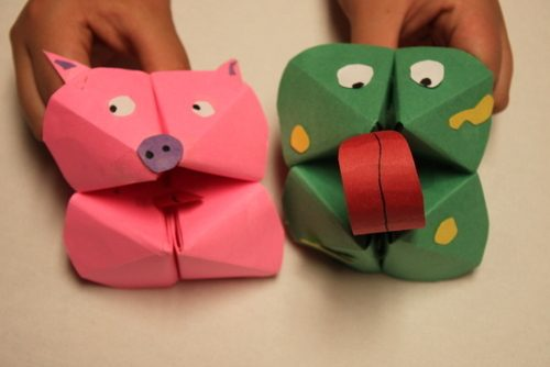 How To Make Paper Puppets For Kids Sidetracked Sarah