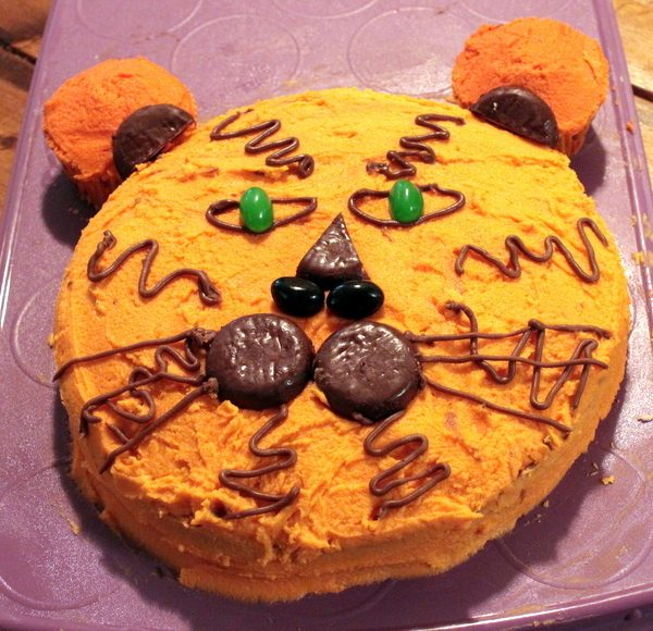 The Tiger Cake