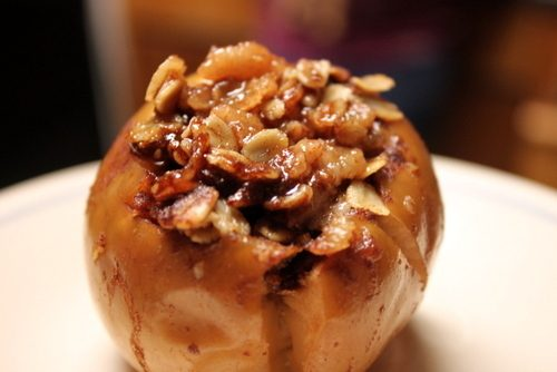 Slow Cooker Baked Apples | Sidetracked Sarah