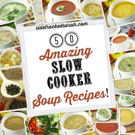 50 Crock Pot Soup Recipes