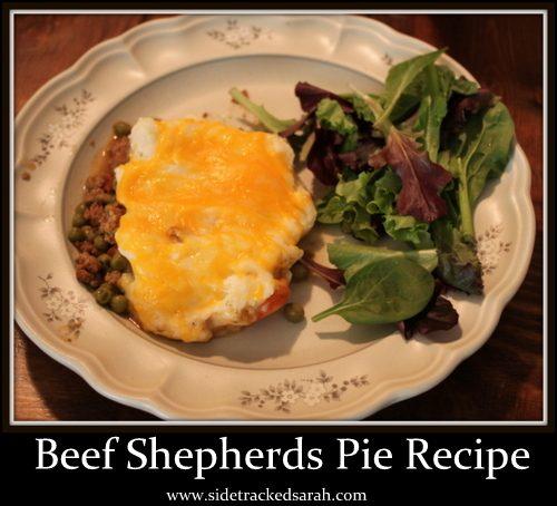 Crockpot Beef Shepherds Pie Recipe