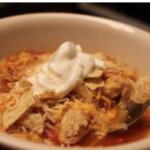 Slow Cooker Enchilada Soup - Sidetracked Sarah