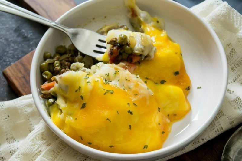 Crockpot Beef Shepherds Pie Recipe