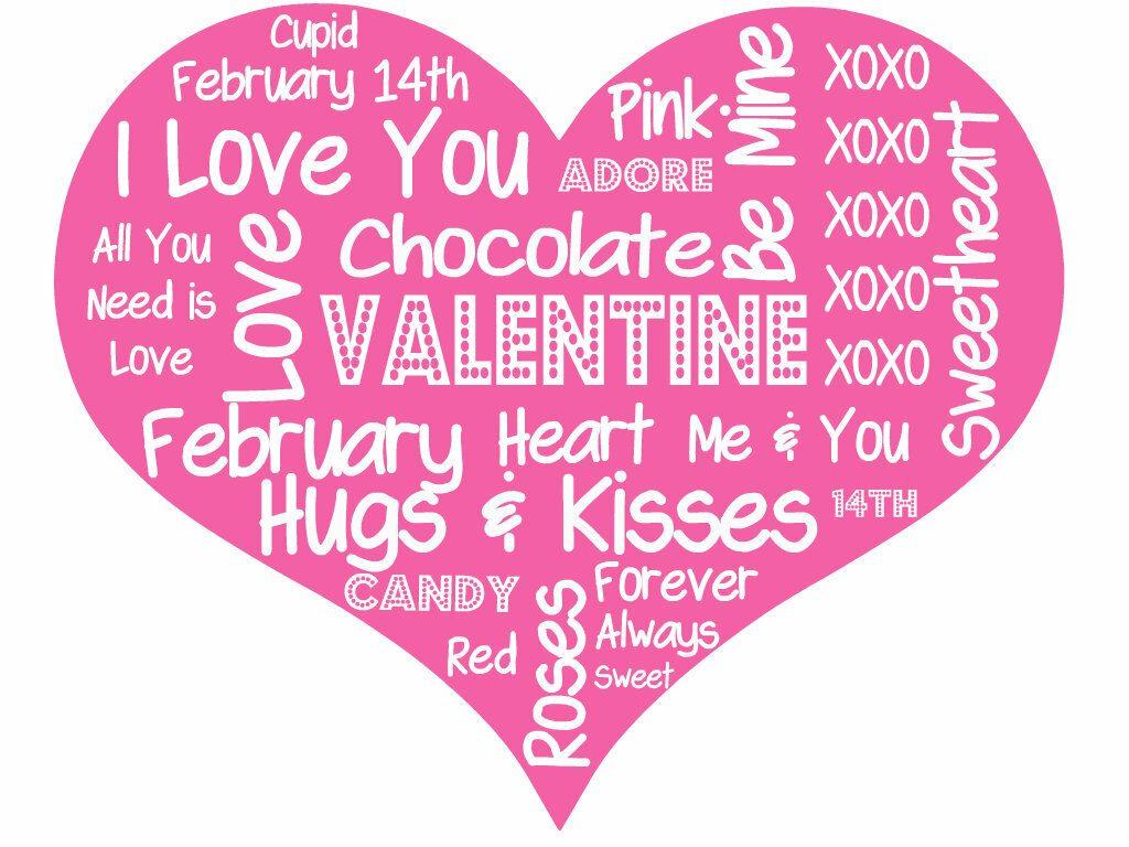 Valentine S Day Subway Art Printable Sidetracked Sarah