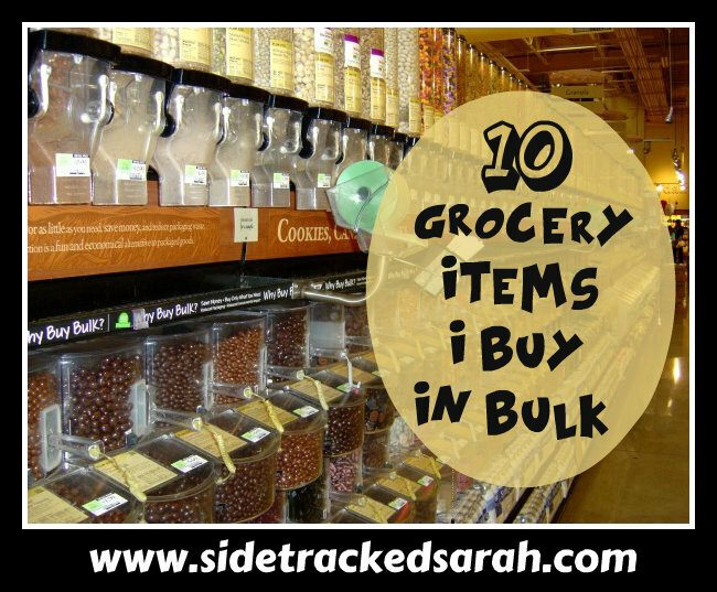 10 Grocery Items I Buy in Bulk Without Coupons