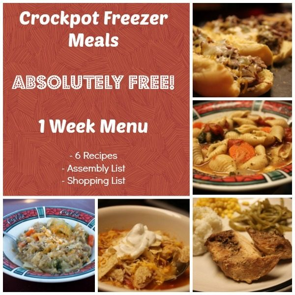 Crockpot Freezer Meals Opt In