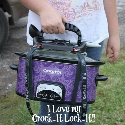 I Love My Crock-It Lock-It - No More Spills!