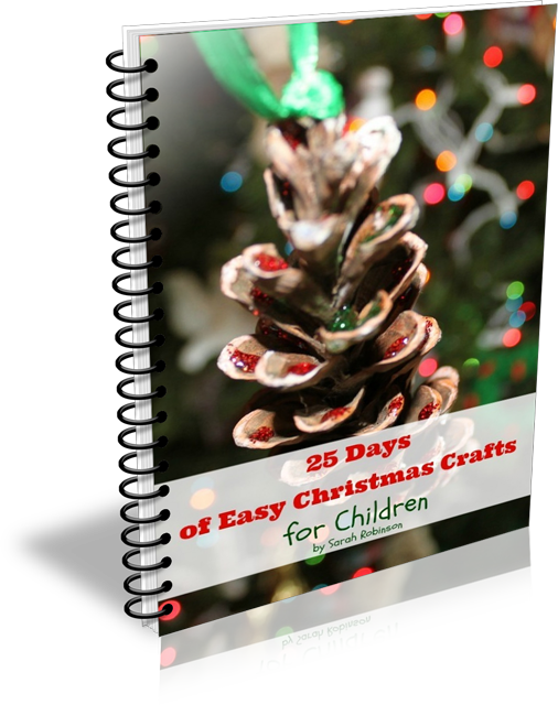 25 Days of Christmas Crafts Ebook Cover
