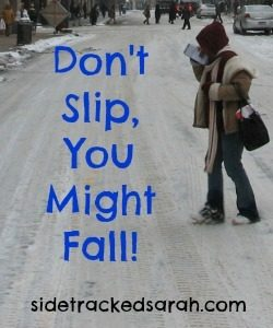 Don't Slip, You Might Fall + {Amazon Sales}!