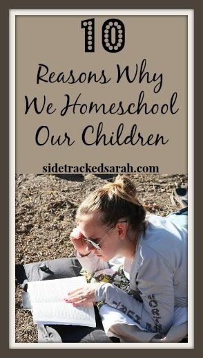 10 Reasons WHy We Homeschool Our Children