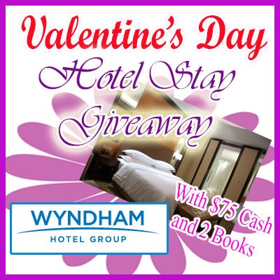 Giveaway:  Valentine's Day Hotel Stay + $75 Cash