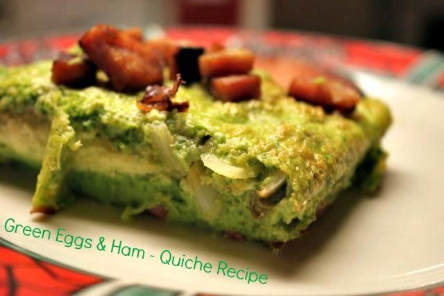Green Eggs & Ham Closeup