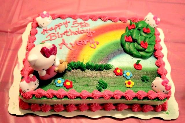 A Hello Kitty Birthday Party Bakery Crafts Cake Giveaway