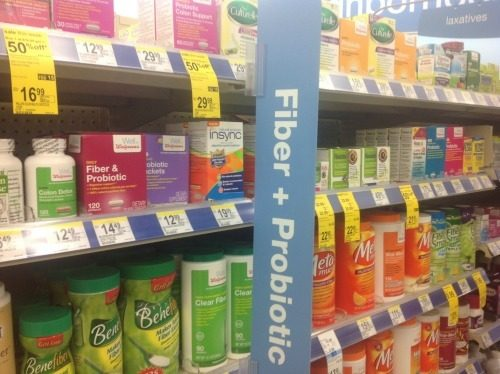 InSync Probiotics at Walgreens