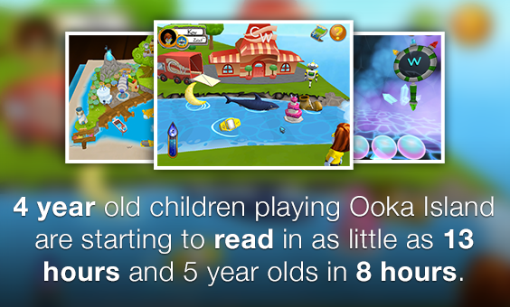 Teaching My Daughter to Read with Ooka Island