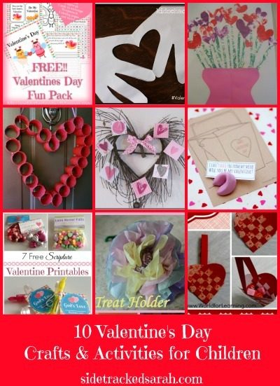 Valentine S Day Crafts Activities For Kids Sidetracked Sarah