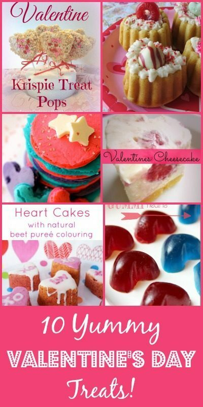 10 Yummy Valentine's Day Recipes