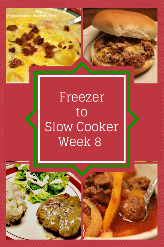 Freezer to Slow Cooker Week 8 Image