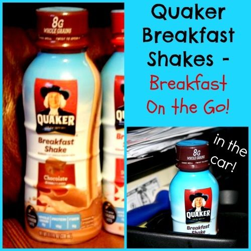 Breakfast on the Go + $25 Walmart Giveaway