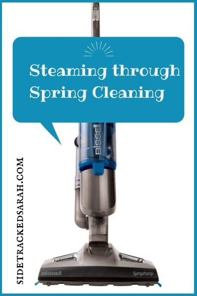Spring Cleaning With My Bissell Steam Mop From Best Buy
