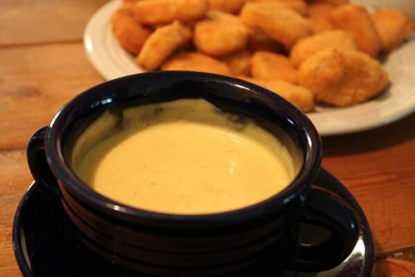 Honey Mustard Dipping Sauce for Tyson Panko Chicken Nuggets