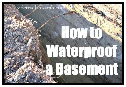 Basement Waterproofing:  How to Waterproof a Basement
