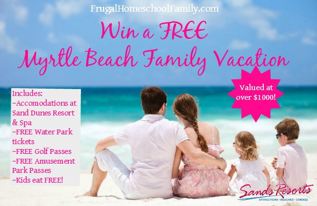 Win a FREE Myrtle Beach Family Vacation!