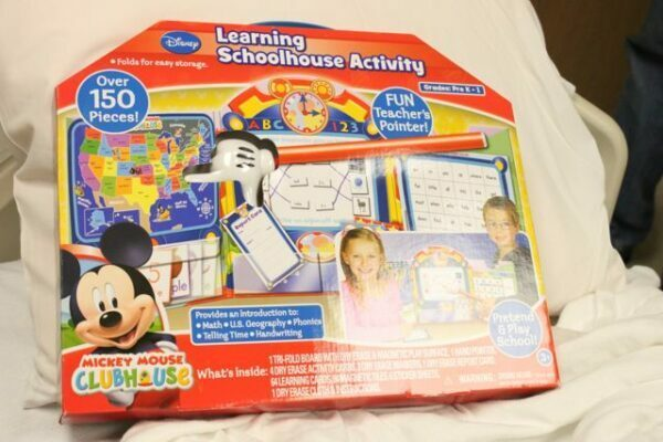 Disney Jr Learning Schoolhouse Activity