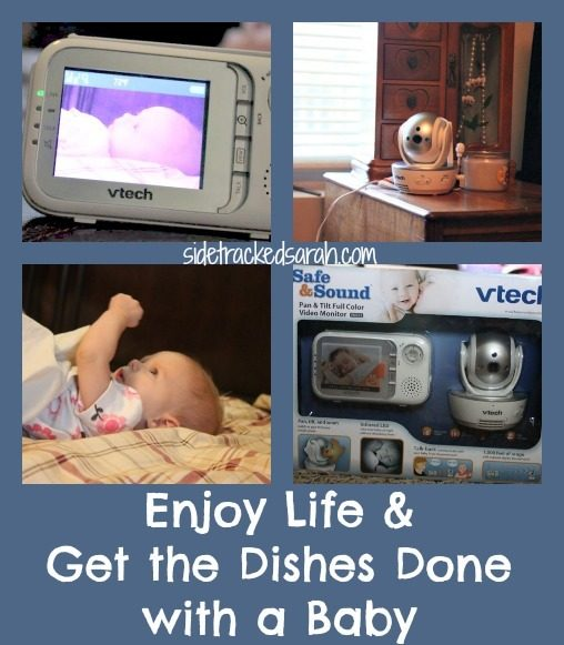 Enjoy Life & Get the Dishes Done with a Baby