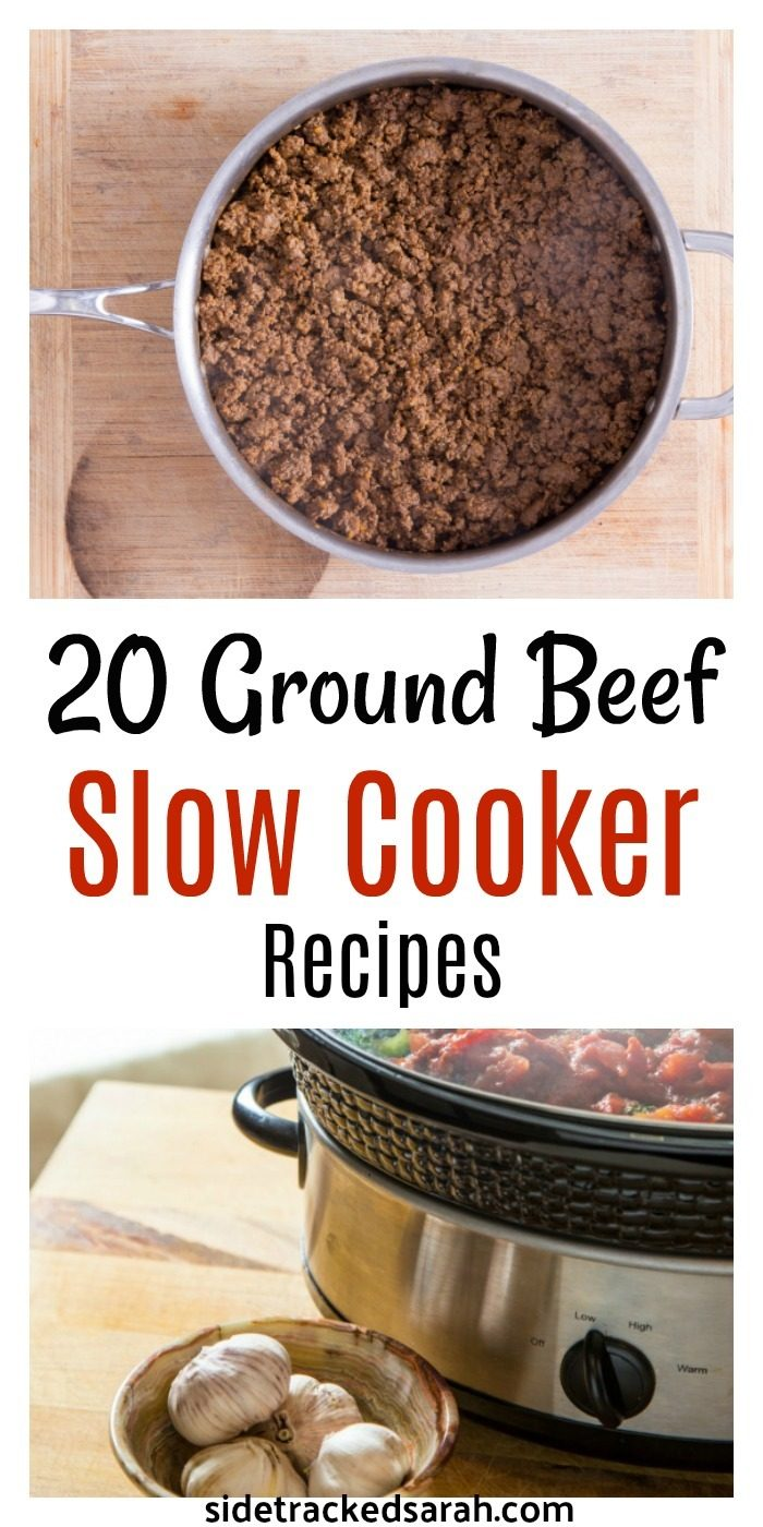how to slow cook ground beef