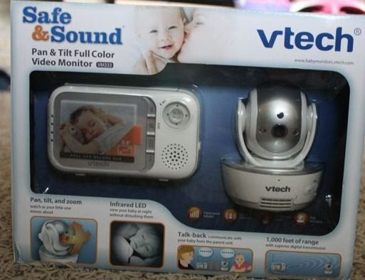 VTech® VM333 Safe&Sound® Pan & Tilt Full-Color Video Monitor