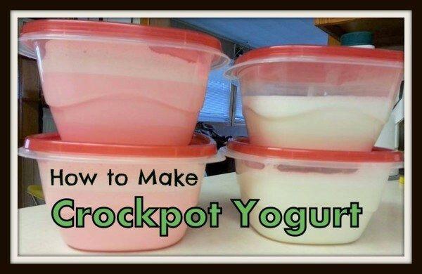 How to Make Crockpot Yogurt