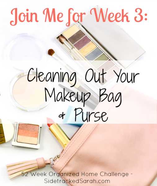 Cleaning Out Your Makeup Bag & Purse
