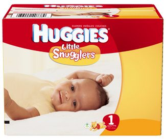 Huggies Little Snugglers Diapers - Size 1