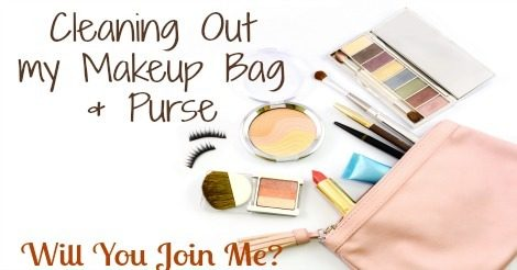 How to Organize Your Purse & Makeup Bag