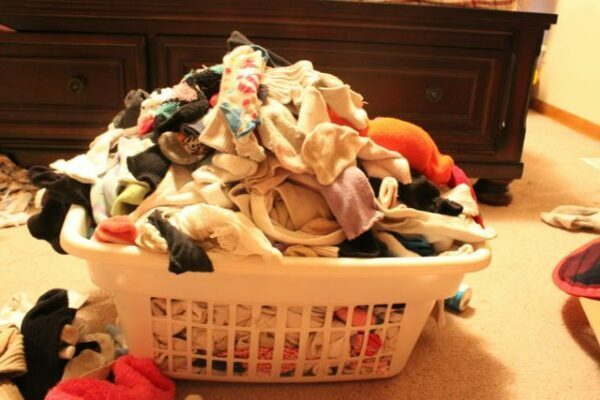 My Sock Basket - Time to Get Organized!