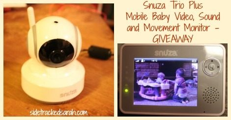 I'm Watching You Baby – Snuza Video Baby Monitor Giveaway