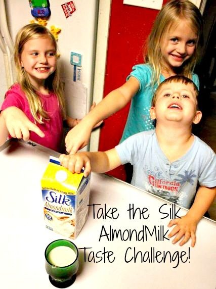 Kids with Almond Milk 2