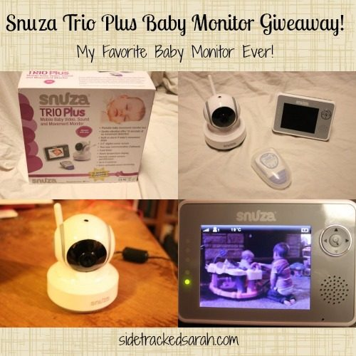 Snuza Trio Plus Baby Monitor