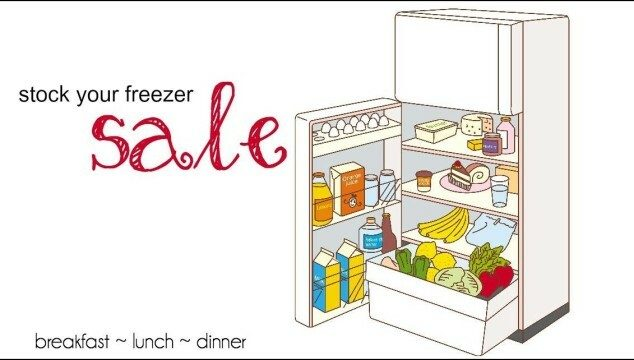 Stock Your Freezer Sale