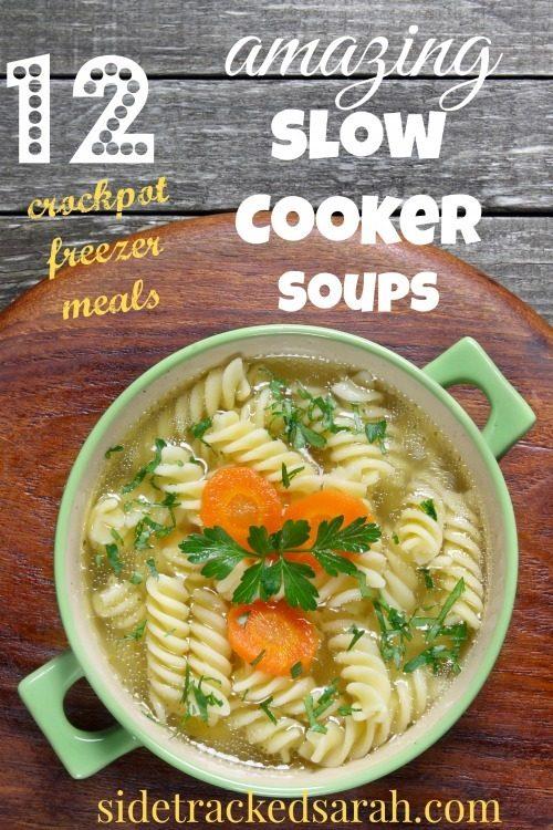 12 Amazing Tattoo Designs For Shoulder Blade: 12 Amazing Crockpot Soup Recipes