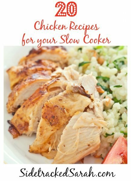 20 Chicken Slow Cooker Recipes