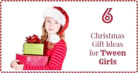 Christmas Gift Ideas for Tween Girls FB